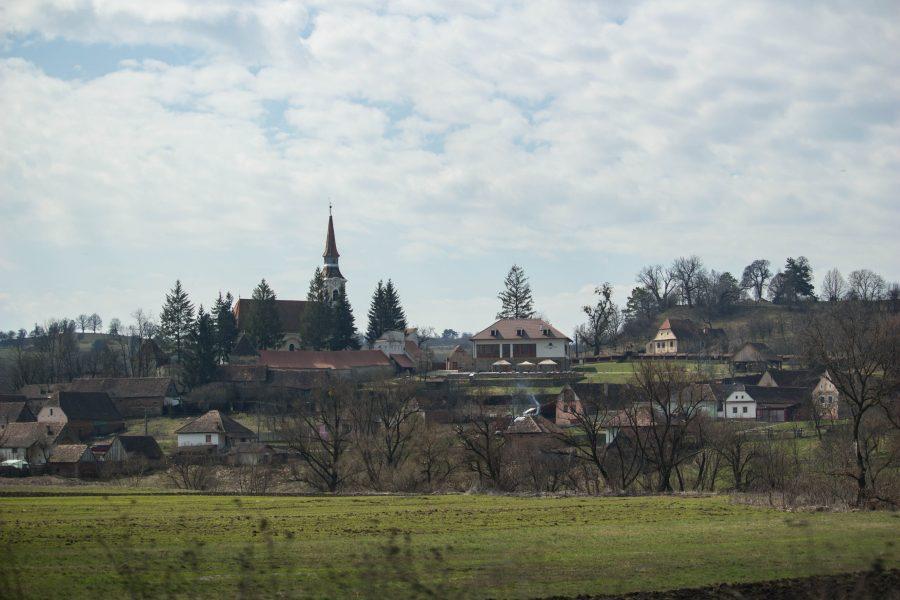 Szászkeresztúr tavasszal