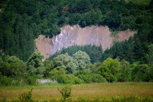 A Parajdi Sószoros sziklái