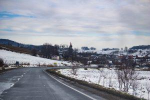 Hétúr téli látképe