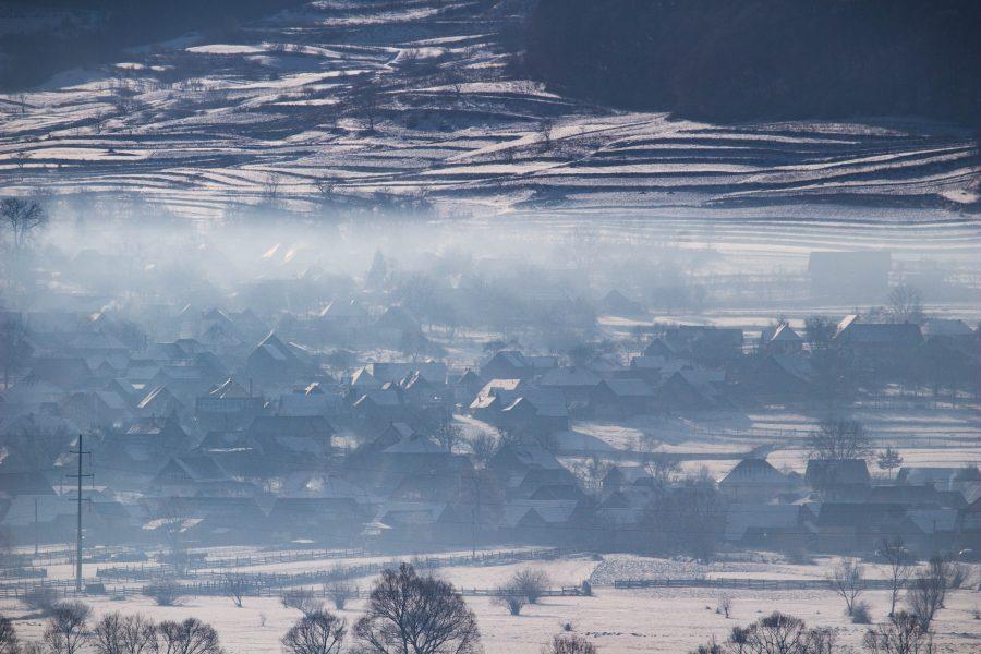 Alsósófalvi téli táj