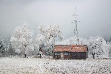 Amikor csíkban tél van - Erdélyi képek