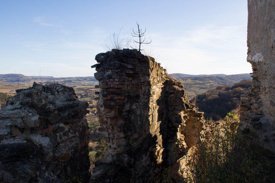 Szászkézdi Parasztvár - Várfal