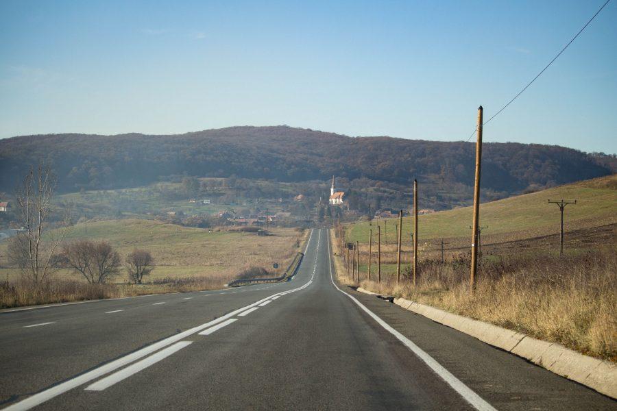 Szászkeresztúr - őszi tájkép