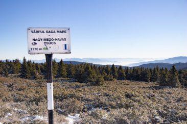 Nagy-Mező-havas csúcs - Erdélyi képek