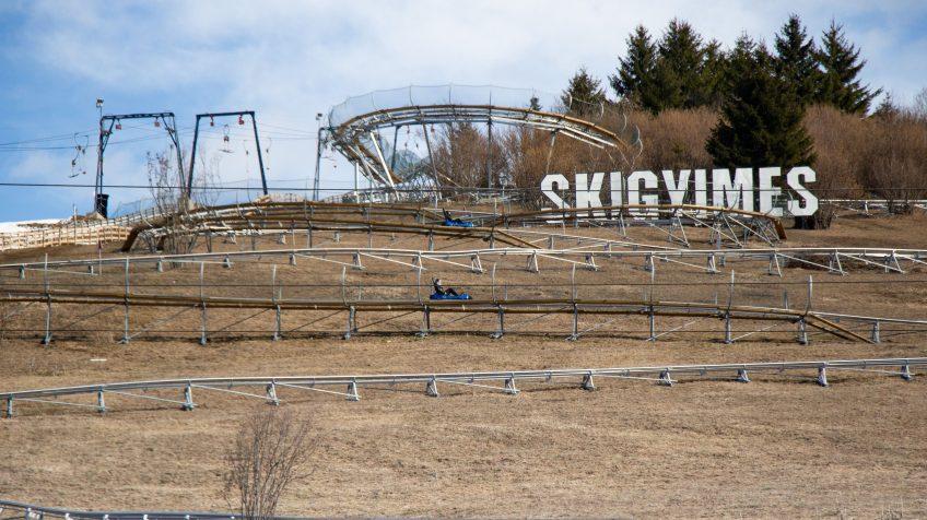 A SkiGyimes híres bobpályája