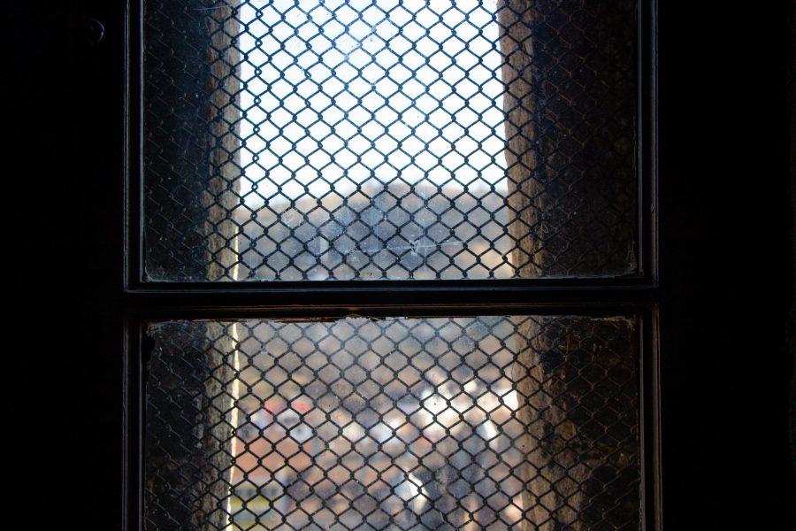 Ablak a Segesvár Óratoronyban