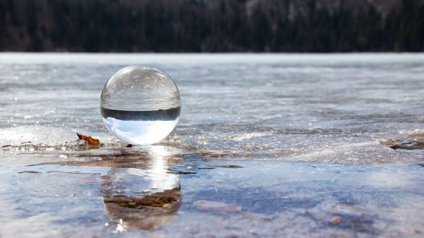 A Szent Anna-tó fotógömbön keresztül