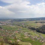 Maroshévíz és környéke látképe