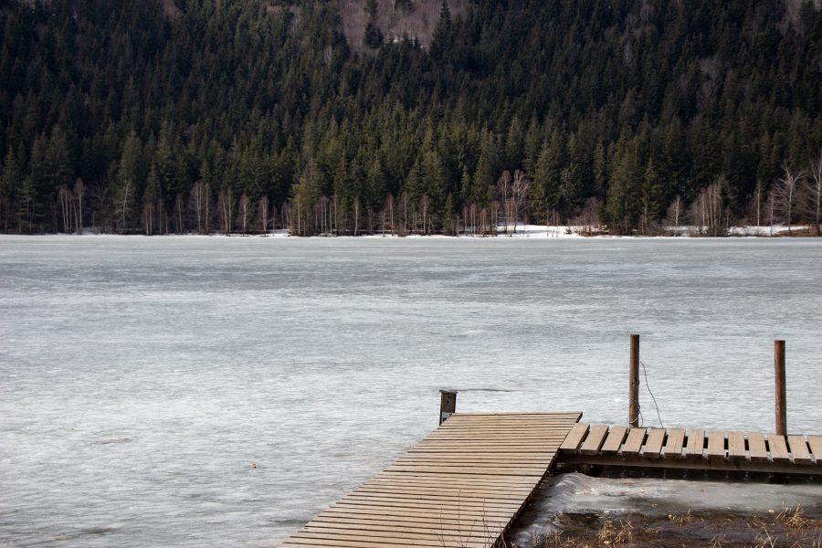 A Szent Anna-tó tavasszal