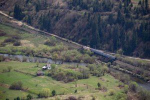 Vonattal Erdélyben