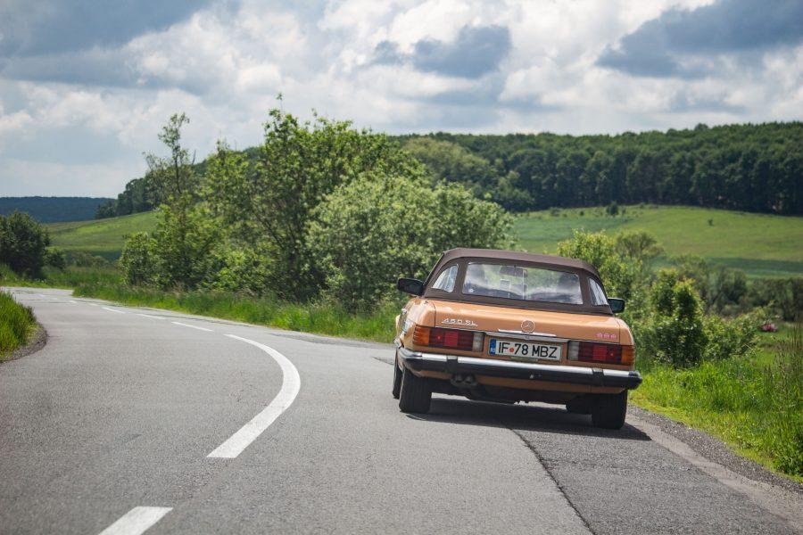 Mercedes Benz 456 SL, 1978 - Castel Classic Rally 2019