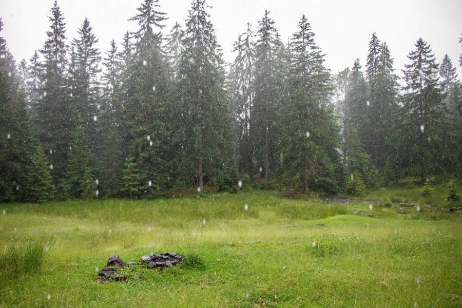 A hét forrás a Csorgókő vízesés közelében