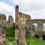 Romos várfalak - egykor itt várépületek álltak
