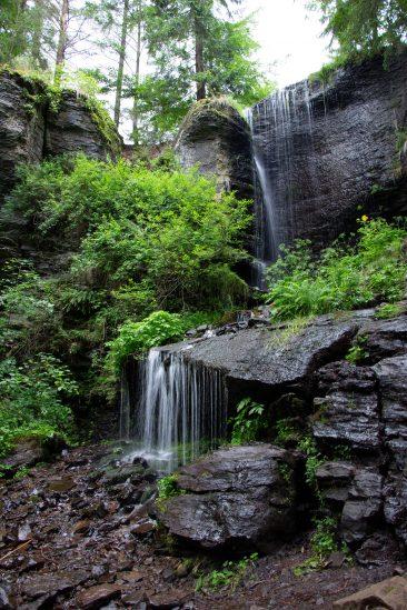 Csorgókő vízesés - Erdélyi képek