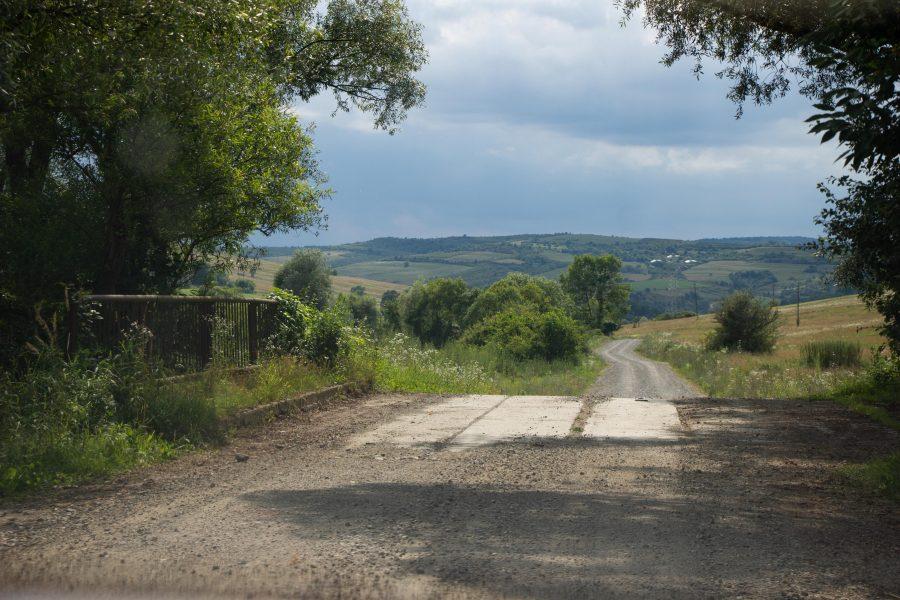 Híd az Etéd fele vezető úton