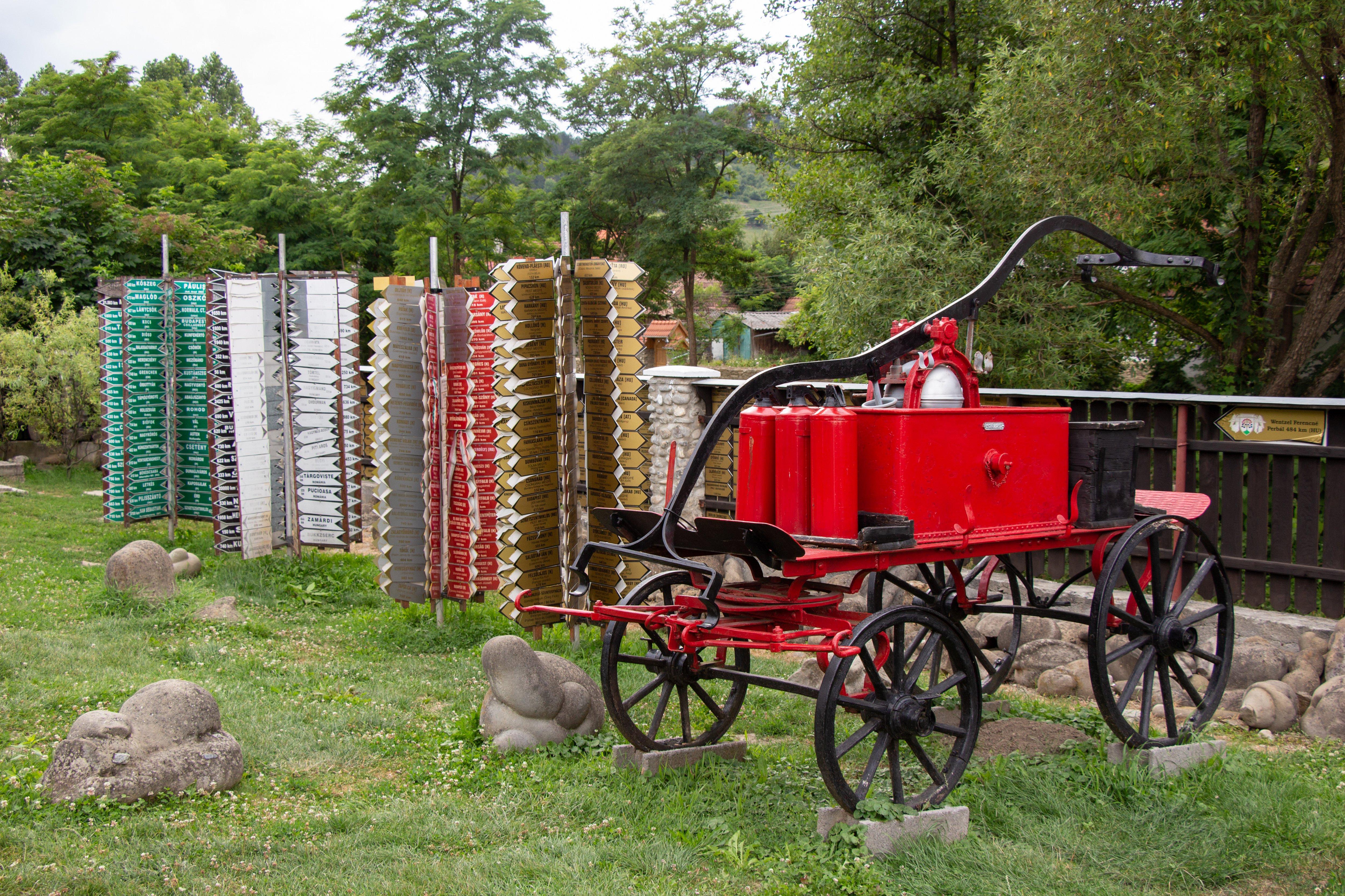 Tűzoltókocsi a Tarnóczy tűzoltószer és gépgyár részvény társaság gyártásában