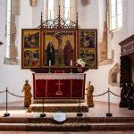 A Szent Kereszt-szárnyasoltár, Prázsmár