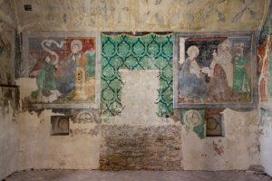 A Berethalmi erődtemplom katolikus tornyának freskói