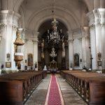 Az Örmény Katolikus Templom belseje