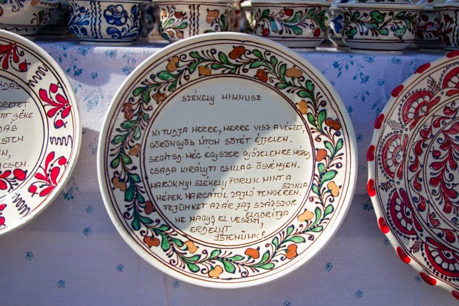 Székely himnusz - Korondi kerámia tányér