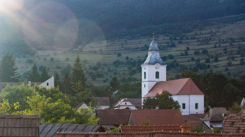 Torockó unitárius temploma