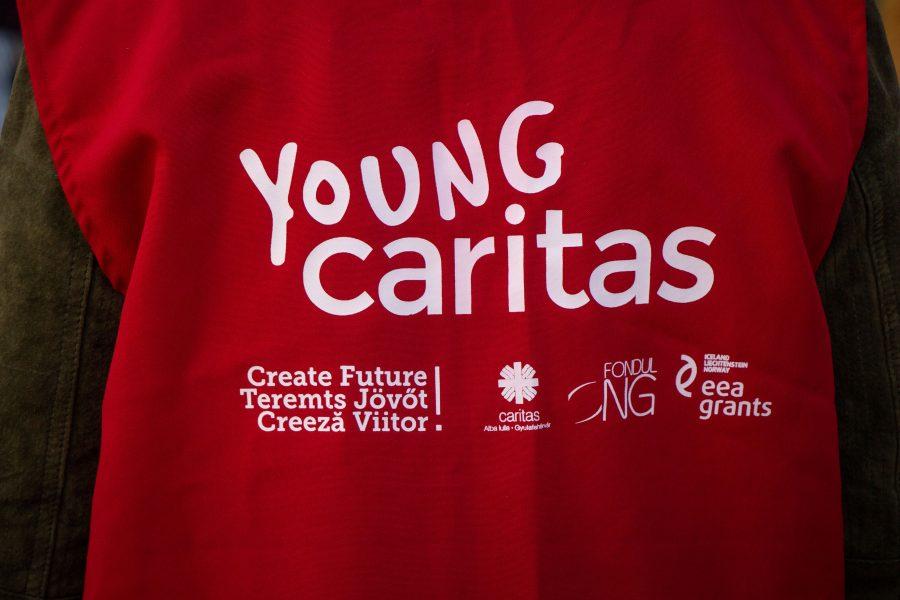 A Young Caritas jelmondata Teremts jövőt