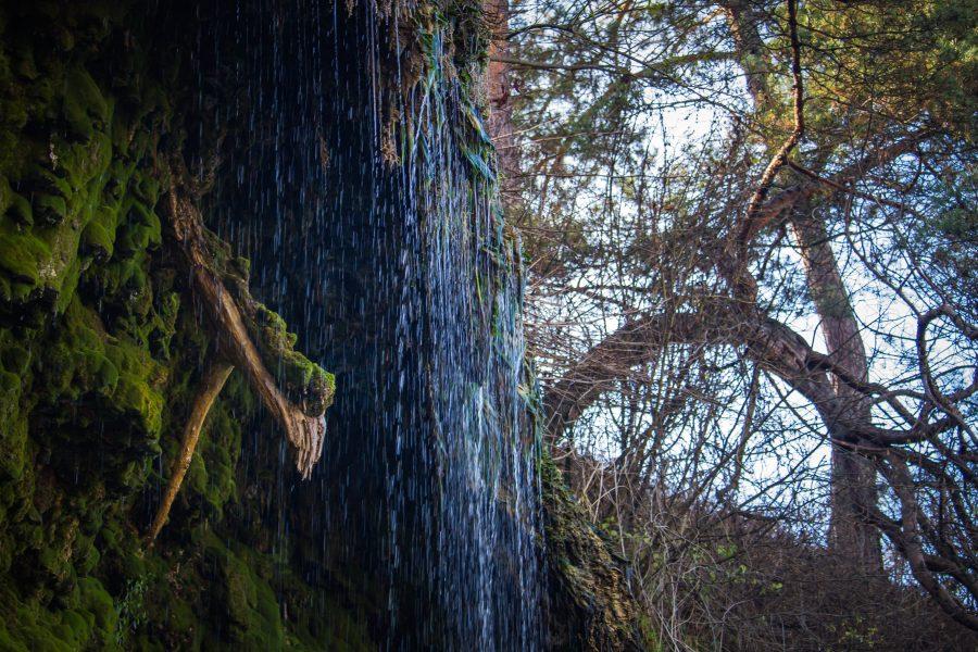 A Bánffy-fürdő közelében található a vízesés