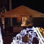 Árus a gyulafehérvári karácsonyi vásáron