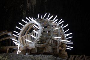 Díszvilágítás a sóbányában