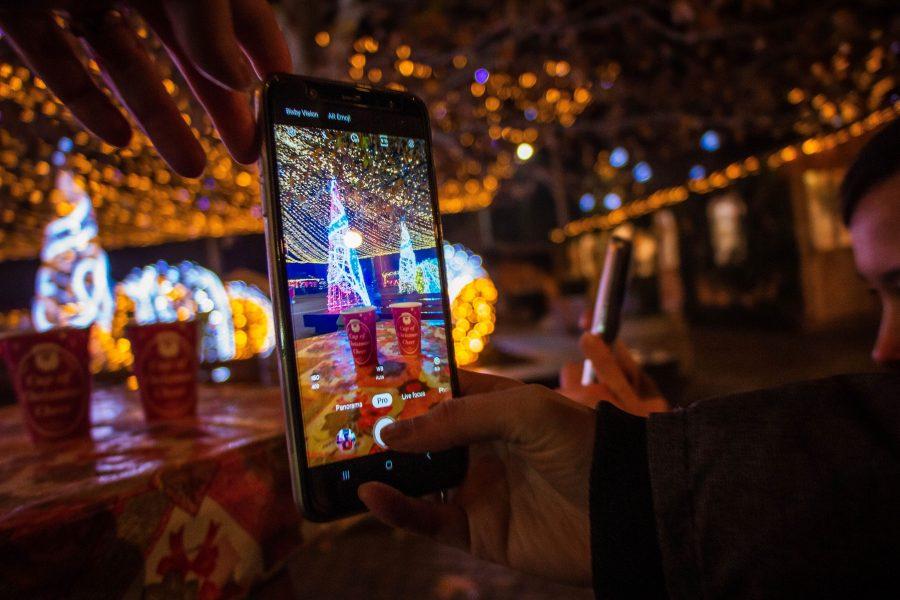 Karácsonyi fotók készítése