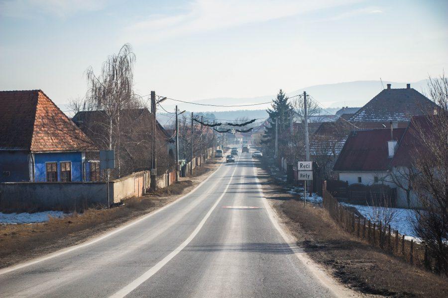 Réty, falu Kovászna megyében