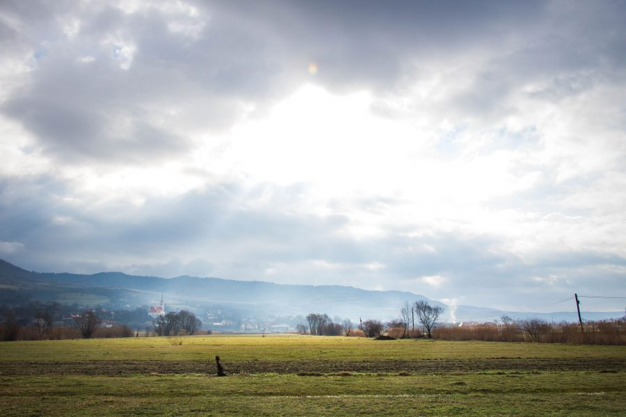 Felsősófalva - Meseszép tavaszi időjárás