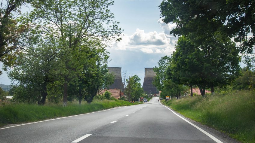 Erőmű Gyulakuta keleti felében
