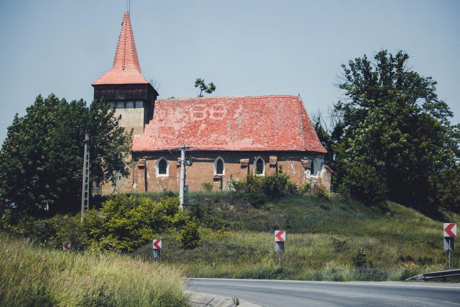 Hétúr gótikus szász evangélikus temploma