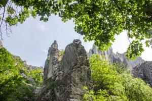 A Tordai-hasadék sziklái
