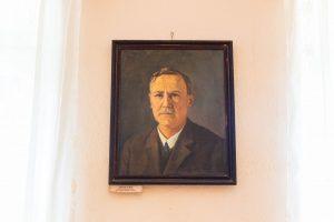 Csutak Vilmos portré - Hum Gyula festménye, 1934