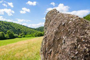 Firtos és Tartód vára legendájának helyszíne