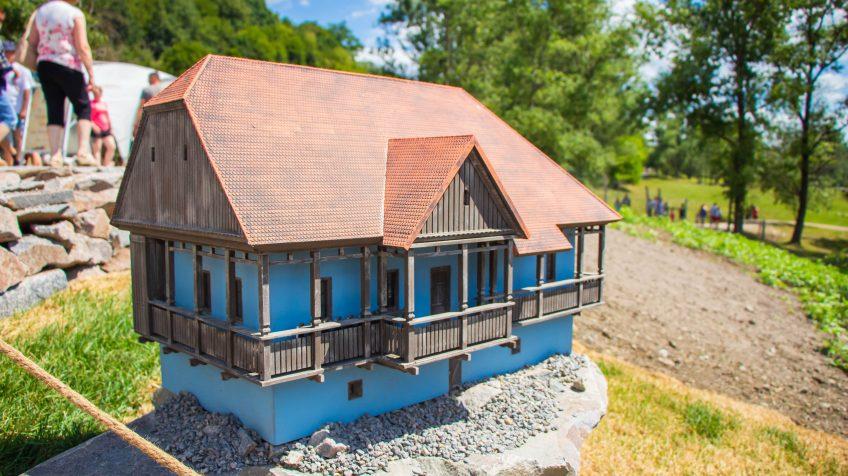 Sóvidéki székely tornácos ház