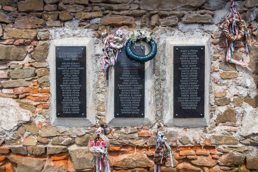 A II. világháború hősi halottjai