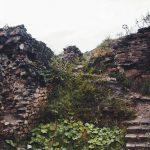 A Rákóczi-vár romja az Ezeréves határon
