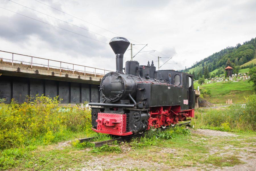 Régen ilyen vonat robogott Gyimesbükkön át