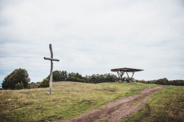 A Fiastetői kilátó - Erdélyi képek