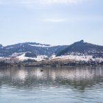 A Bözödújfalusi-víztározó csendes vize