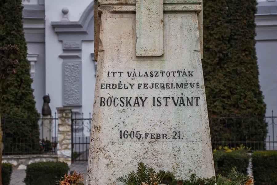 Itt választották Erdély fejedelmévé Bocskay Istvánt 1605. február 21-én