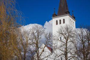 Szék református temploma