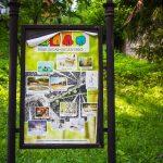A sepsiszentgyörgyi Sugásfürdő térképe