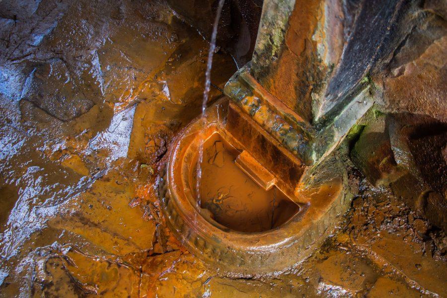 Ásványvíz forrás Sugásfürdőn
