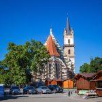 A besztercei, gótikus, szász, evangélikus templom