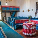 Az erdőszentgyörgyi református templom belseje