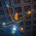 Az erdőszentgyörgyi református templom kazettás mennyezete